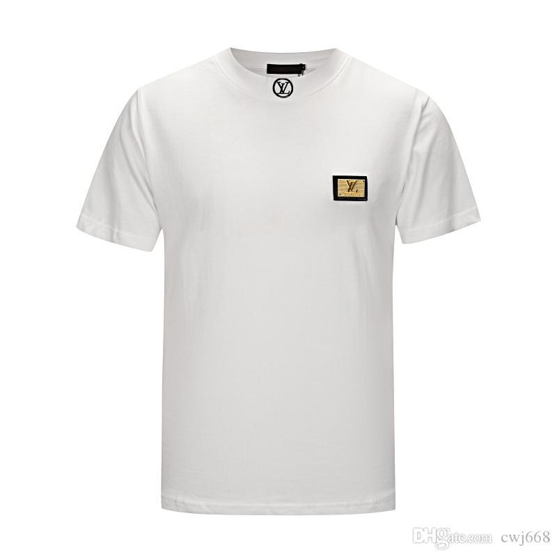 2018 лето дизайн футболки мужская рубашка тигр голова письмо Вышивка футболка мужская марка с коротким рукавом женская рубашка S-2XL 66