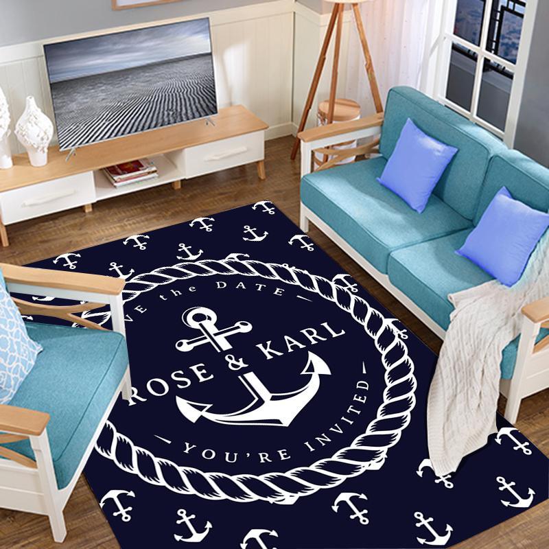 Kreative Karikatur-Polyester weiche Teppiche für Wohnzimmer Schlafzimmer Teppich Teppiche Fläche Teppich Large Home Boden Teppich Kid Spielteppich Mat