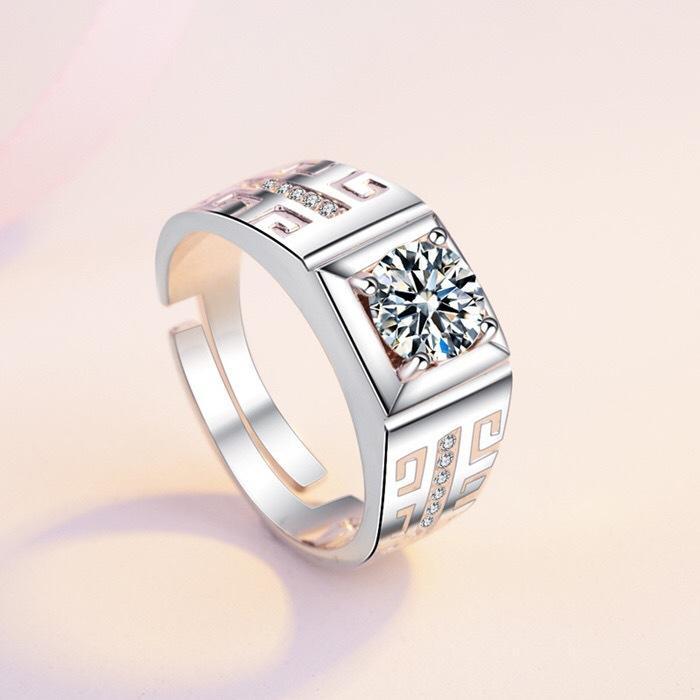 O casamento da faixa dos anéis de noivado para as Mulheres Homens Amantes de aço inoxidável personalizado presente do aniversário