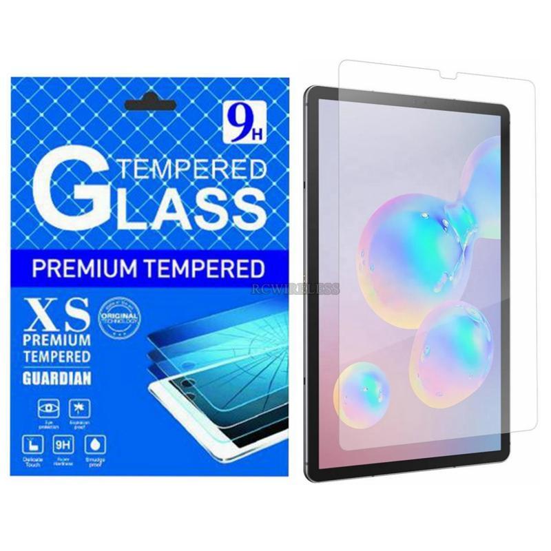 Para la lengüeta S7 Plus S6 Lite 5G S5E P610 P615 T866 T860 T865 10,5 pulgadas Clear resistente pantalla de cristal templado película del protector