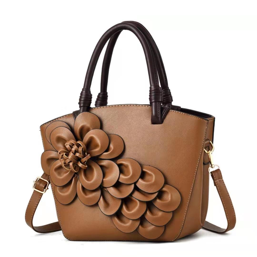 Sac tridimensionnel nouveau sac de fleur mode marée marée pour femmes de niche sac à main Kiutu