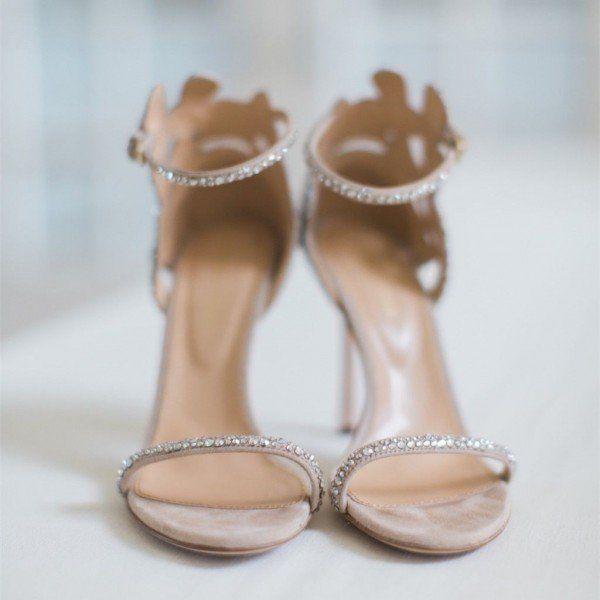 2019 Новая мода супер высокие каблуки пип ног горный хрусталь цветок Настроенные женщин офис партии повелительницы свадебные сандалии обувь бесплатная доставка