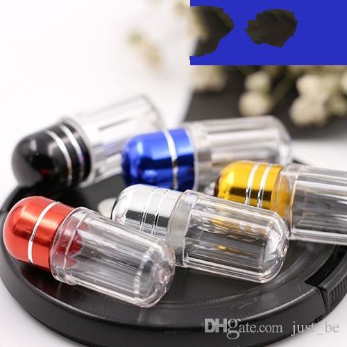 High-grade Single small capsule bottle case box single capsule packaging bottles sub Splitters bottle health care