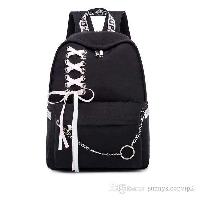 Fashion Korean Women/'s PU Backpack Girls/' School Backbag The hedgehog Backpack