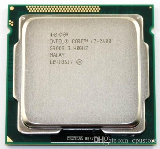 Intel Core i7 2600 3.4GHz Quad Core Processor 8MB 5GT/s SR00B LGA 1155 SOCKET i7-2600