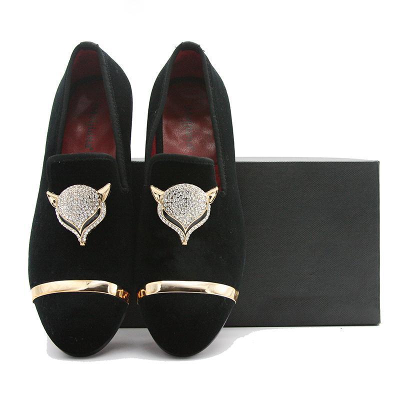 mocasines de terciopelo clásico de la marca planas de los zapatos ocasionales de los hombres que conduce los zapatos de terciopelo Nuevo 2019