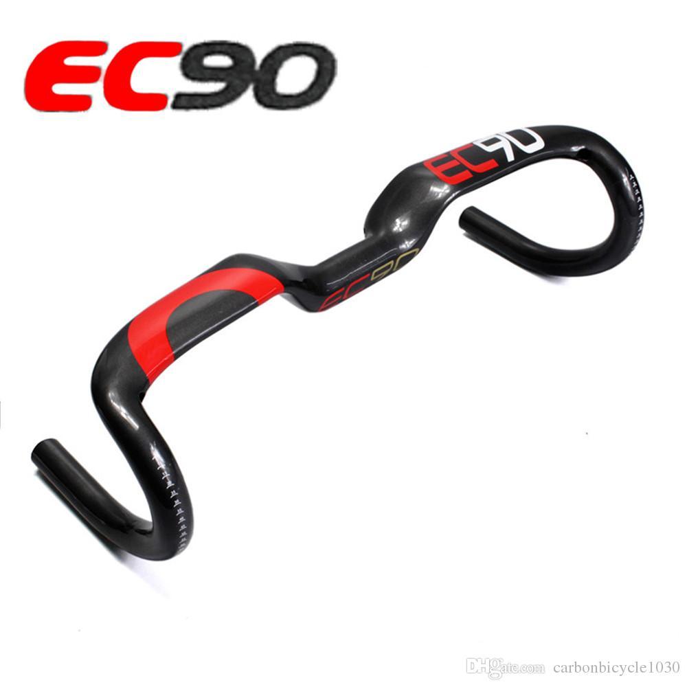 AERO Carbono Guiador de Carbono 31.8 MM 400/420/440 MM Bicicleta de Estrada / MTB Guiador Bicicleta de Estrada de Carbono Lidar Com Bar Bicicleta Peças
