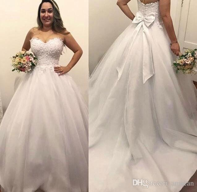 Sweetheart Top Wedding Dress