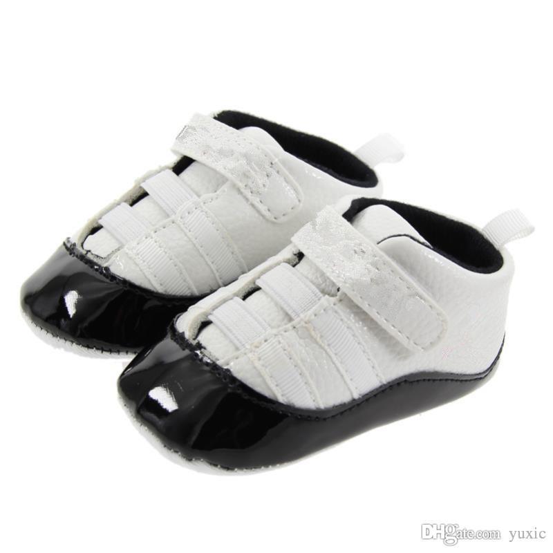 Frühling und Herbst Baby Schuhe PU Leder Neugeborenen Jungen Erste Wanderer Schuhe Infant Prewalker Turnschuhe Schuhe