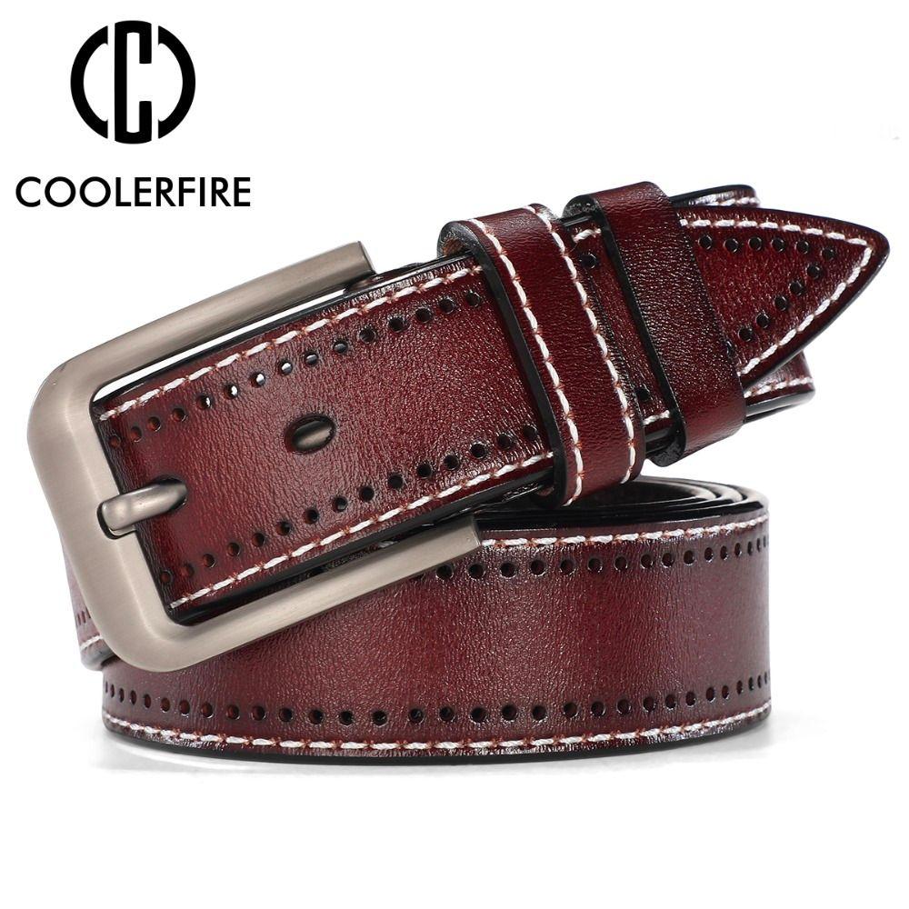 Men Genuine Leather Designer Belts Luxury Fashion Trouser Waistband Stylish Casual Belts With Black,Brown,Navy,Orange