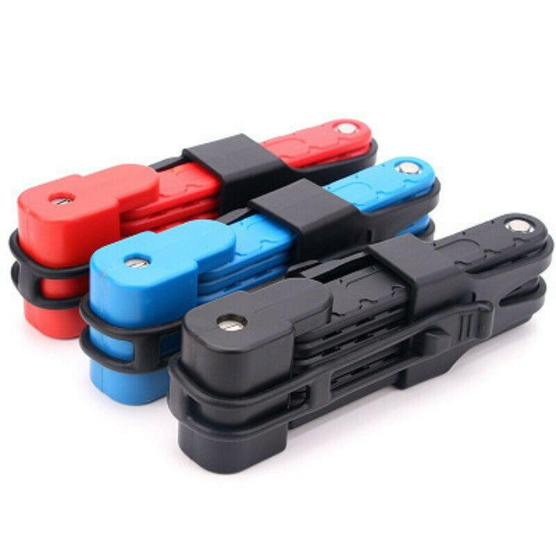 Universal Folding High-quality Safety Cable Lock Steel Bike Lock Anti-theft Driving Tool for Mountain Bike