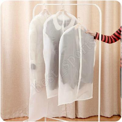 Pano de Dustproof Tampa Garment Organizador Vestido paletó Clothes Protector bolsa de viagem saco de armazenamento com zíper ZZA1361