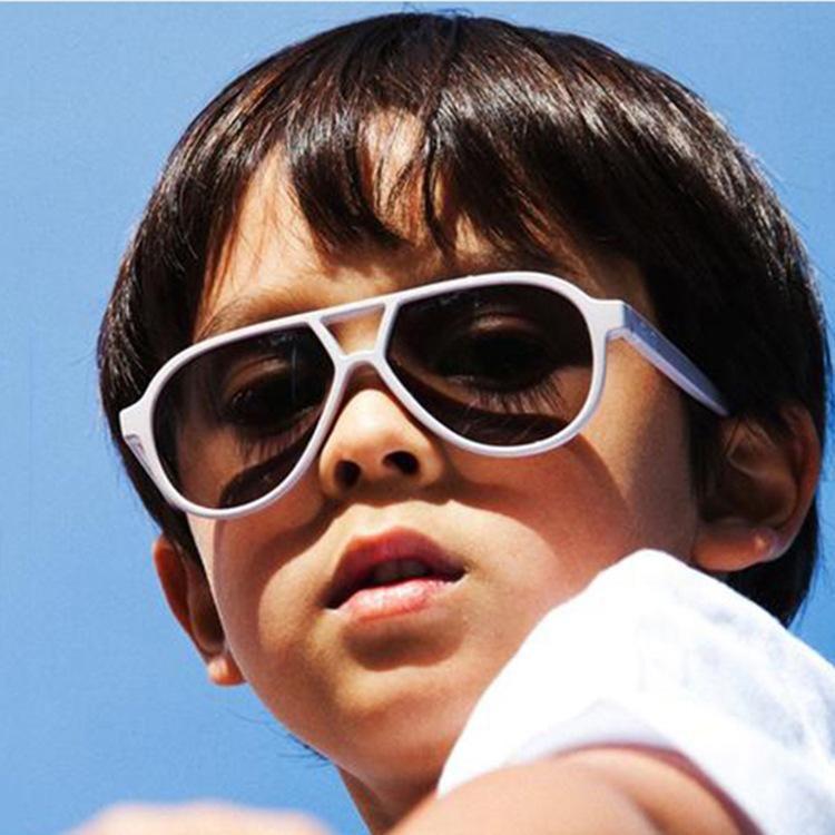Polit Toddler Sunglasses 2020 Children Girls Baby Kids Boys Sun Glasses High Quality Futuristic Oculos De Sol Infantil Uv400 iglIP