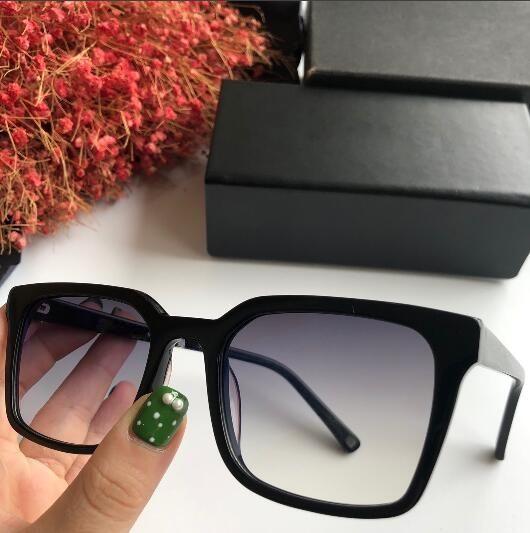2018 novos homens do desenhador azul escuro preto franca quadro azul óculos quadrados de moda Hot vender óculos de sol de alta qualidade com caixa e dastbag