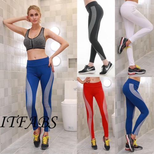 Mulheres Sports Yoga Workout Fitness Gym magro Leggings Pants Atlético Pop Hot Calças Roupa