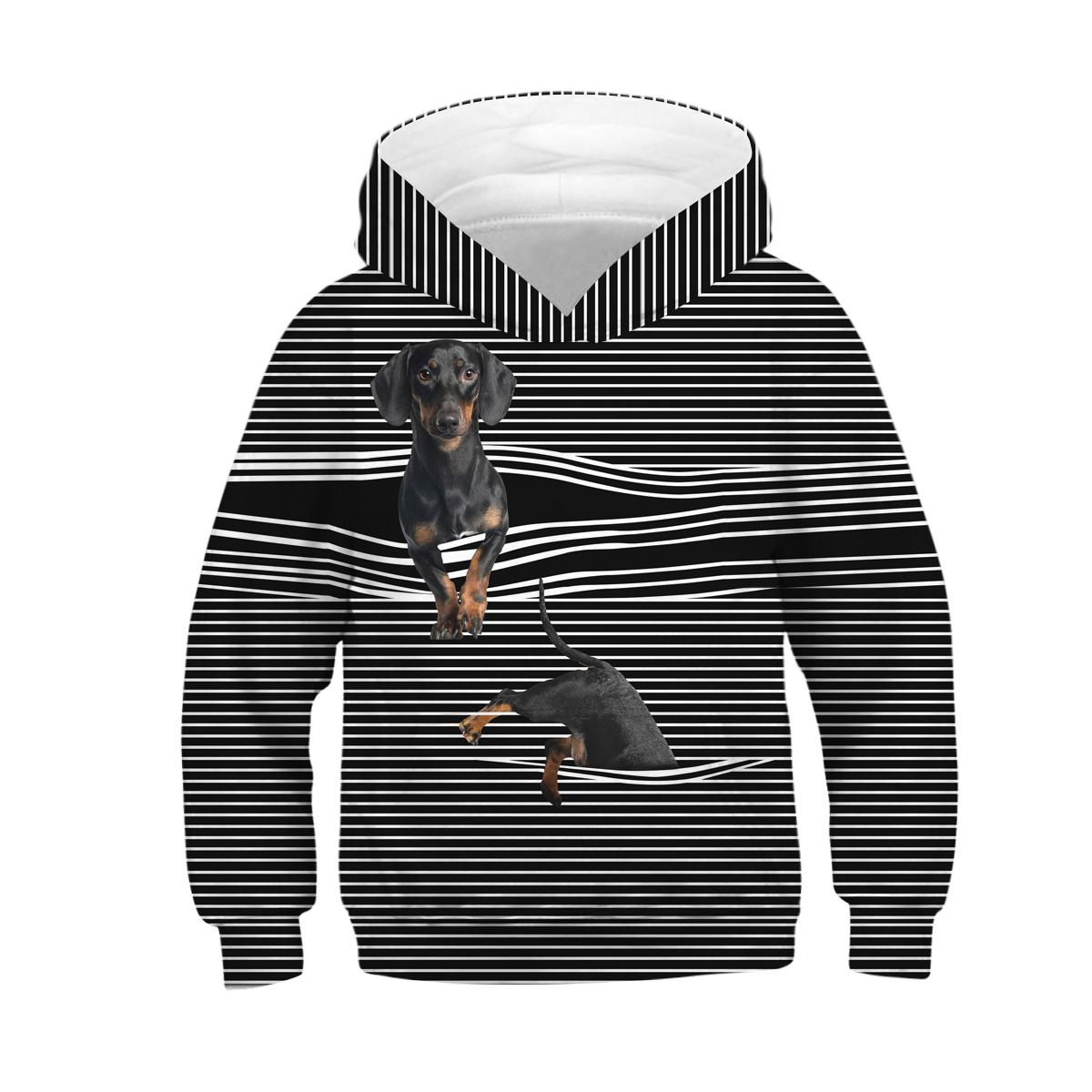 New Dog Window 후드 티 후드 티셔츠 3d 프린트 Hoody Casual Pullovers Streetwear 탑스 가을 정규식 힙합 힙합