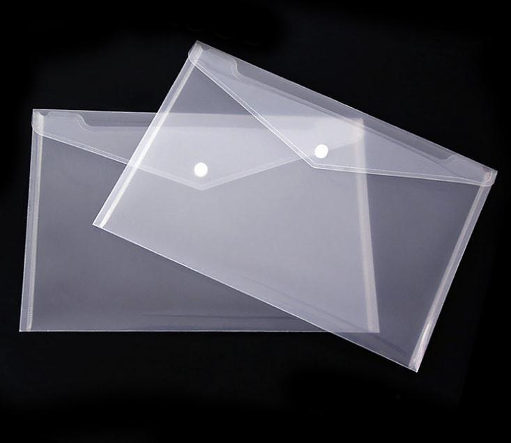 أفضل من البلاستيك الشفاف المجلدات A5 الملف حقيبة وثيقة حقائب عقد المجلدات إيداع مدرسة ورقة تخزين اللوازم المكتبية SN950