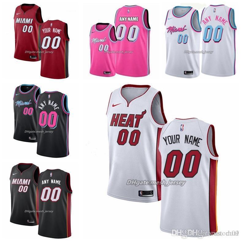 2019 2019 Customized Miami Heat Men Women Kids Custom Name Number Jersey 3 Wade 21 Whiteside 22 Butler Nba City Basketball Edition Jersey From Custom014 23 36 Dhgate Com