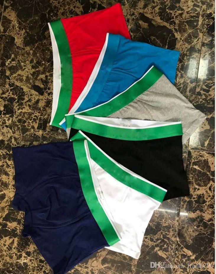 Men's Designer Boxer Brief Underwear Shorts Mens Vintage Sexy Underwear Casual Short Cotton Crocodile Underpants