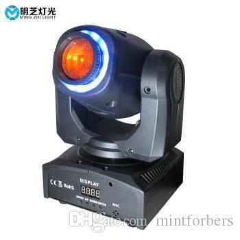 MZL-29 RGB del punto Efecto Traslado de la luz 30w cabeza con los anillos DMX grano de la lámpara a DJ Party