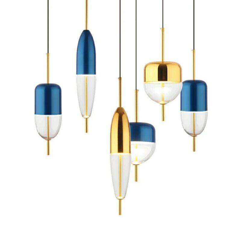 산업 샹들리에 레트로 현대 북유럽 창조적 인 철 4 * E14 LED 촛불 전구 샹들리에 램프 미국 레스토랑 장식