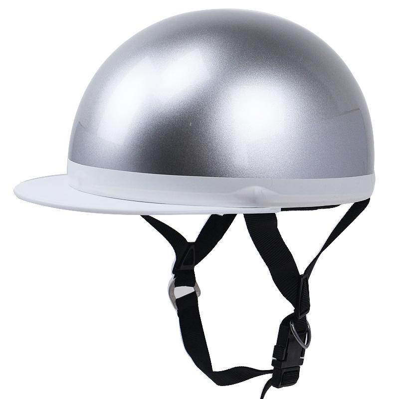 Poids léger casque de moto E-bike casque de vélo de scooter style japonais ouvert visage avec visière 57-60cm unisexe