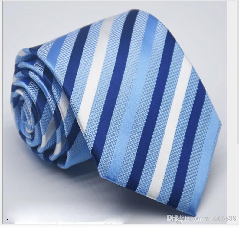 2019 nuevos Hombres corbata 1200 pines 8 cm alta densidad corbata vestido versión británica y coreana