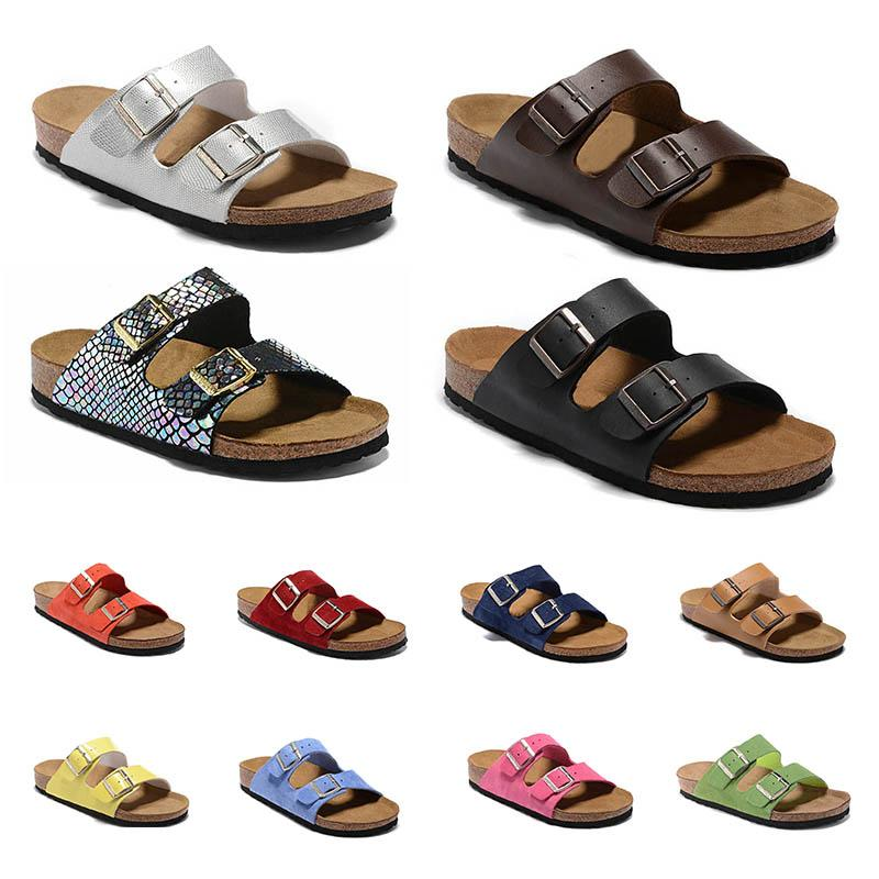 Mayari Arizona Boulaq Floride Hommes Femmes Cork flip Slipper Summer Beach Flops Sandales unisexe Hombres Mujeres Zapatillas Slides Casual Shoes