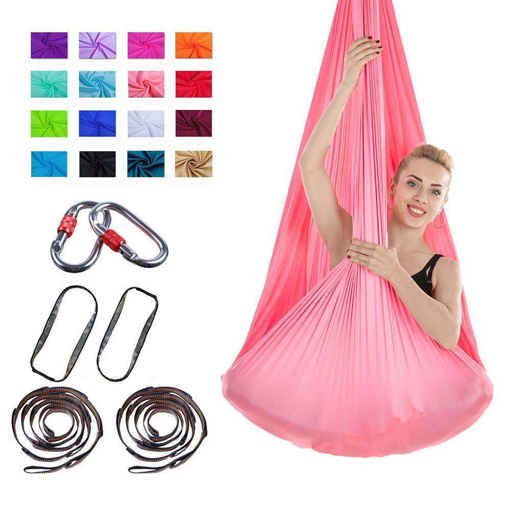 Aerial Yoga Hammock Premium Aerial Silk Yoga Swing Antigravity Yoga