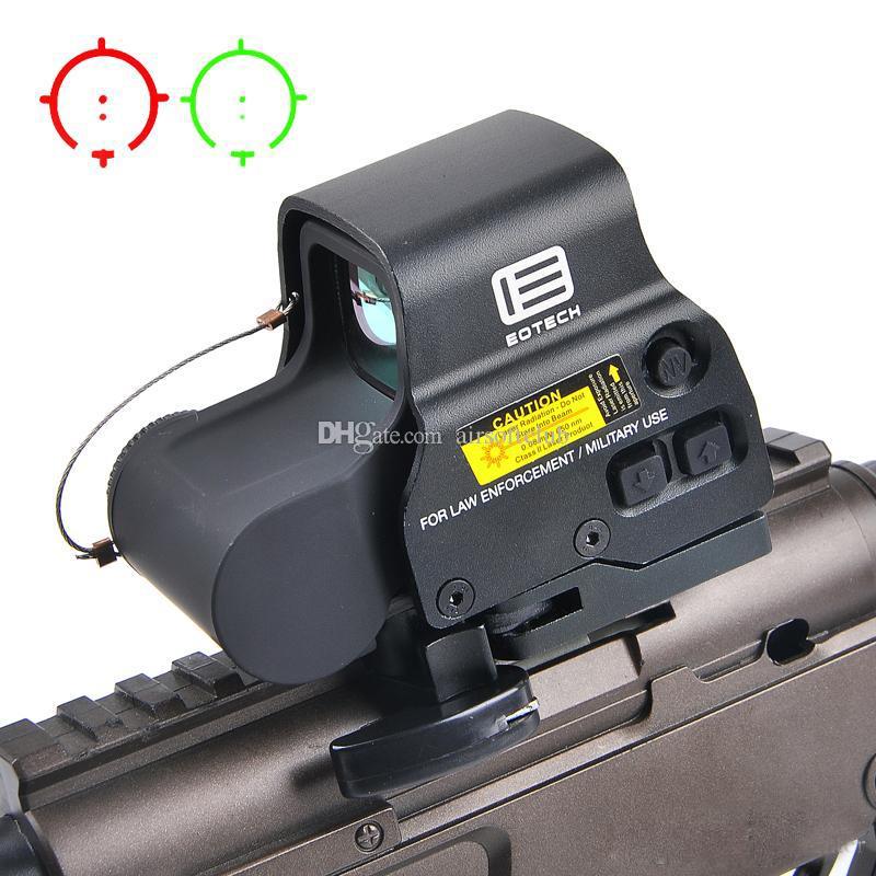 NEW 558 Голографическая Red Green Dot Sight Тактический прицел оптический прицел Коллиматорный прицел с 20мм Scope Mounts