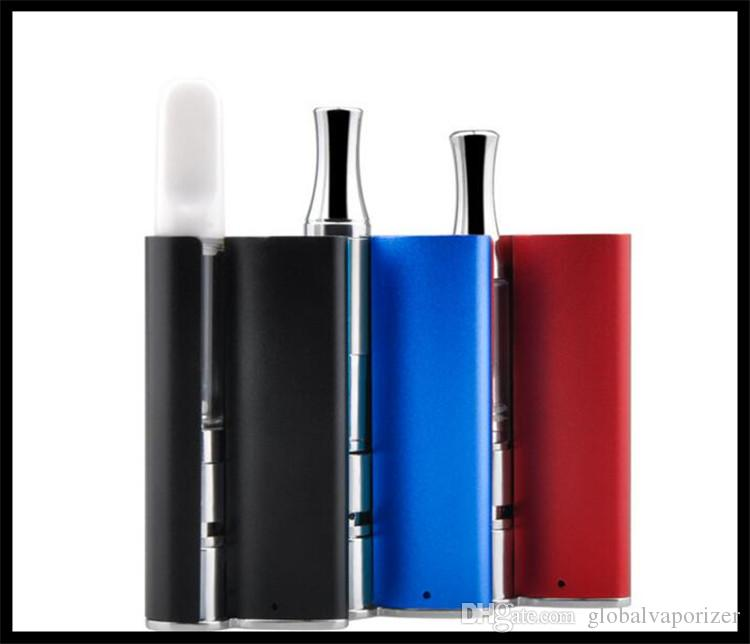 Gaskasten 510-Box-Mod-Batteriesatz 400mah Vaporizer dhl-freies Verschiffen co2 dickes Öl rauchen gerät e zigarette kit conseal vaping mod