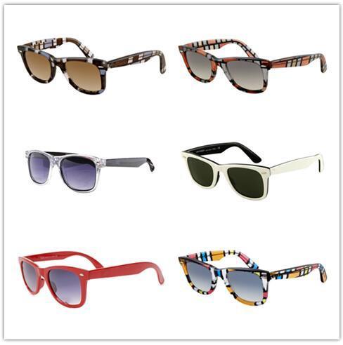 Luxo- homens e mulheres 2140 Moda R. B Óculos de Sol Designer de vidro de alta qualidade com caixa Marca Sunglasses 18 cores