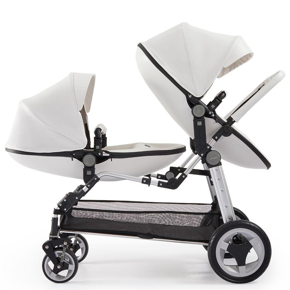 O bebê junta Carrinhos Tow bebê Vacuum Tire Stroller portátil Twins Buggy multi Unidos ajustar Duplo assentos de carro Especial