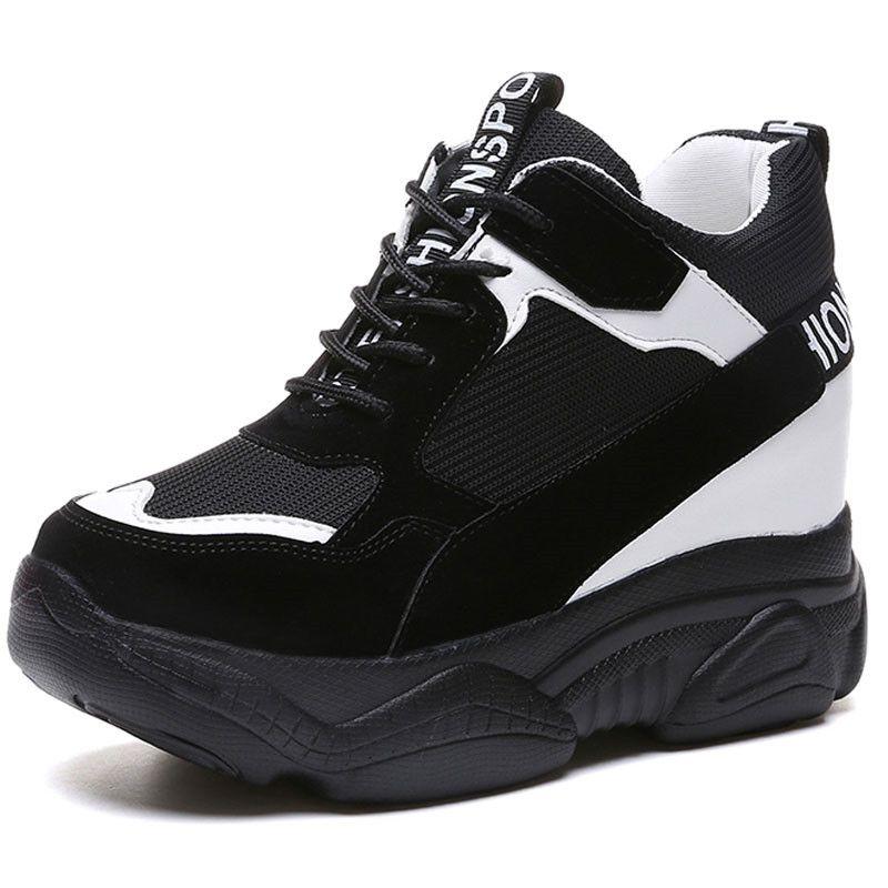 scarpe da ginnastica con zeppa ebay e7e65 4d56f
