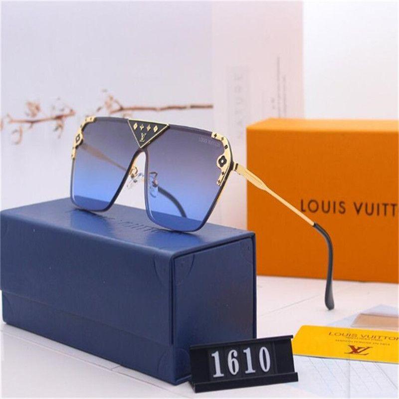 2020 vendita calda di disegno di marca degli occhiali da sole di marca Pilot Vintage Occhiali da sole UV400 banda Uomini Donne Ben metallo vetro Montatura Lente D3