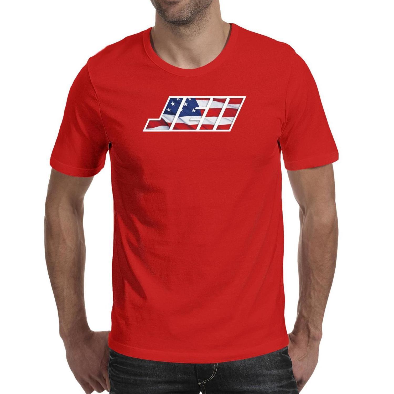 رجل جوليان إيدلمان je11 العلم الأميركي أزياء تي شيرت الطباعة مجنون القطن قمصان مطبوعة كم قصير تيز الرياضة التمويه كرة القدم
