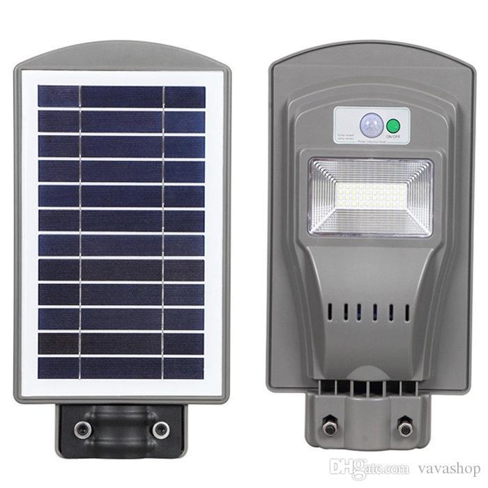 Robustes Solar-Straßenlicht für den Außenbereich