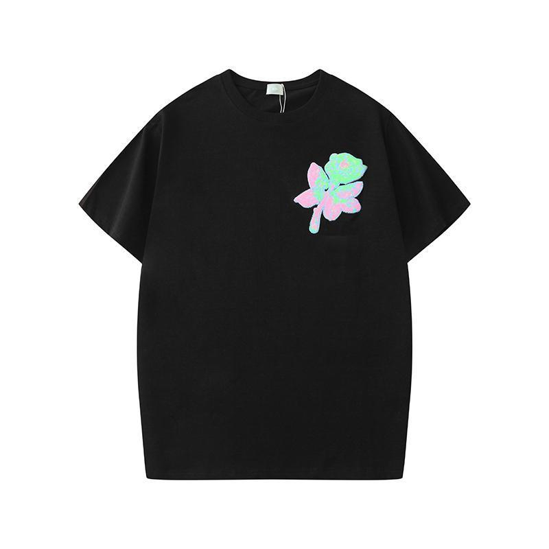 Kadın Casual Yaz Tişörtlü Kadınlar Moda T Gömlek Lady Plaj Giyim Kısa Kollu Tişörtler Tatil Gevşek Tişört Boyut S-XXL Tops