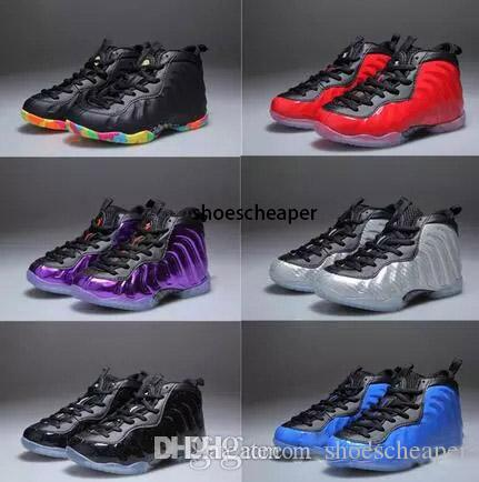Penny Hardaway economico per bambini scarpe da basket infantili atletico sport Pippen Duncan bambino sneaker Size: 28 --- 35