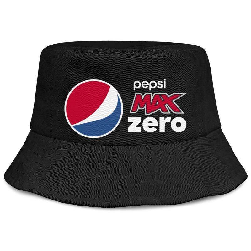 özel düz kova beysbol kasketi Diyet pepsi max Retro yabani kiraz logosu Marka Logo Cap buckethat erkek ve kadınlar için Pepsi Max Sıfır