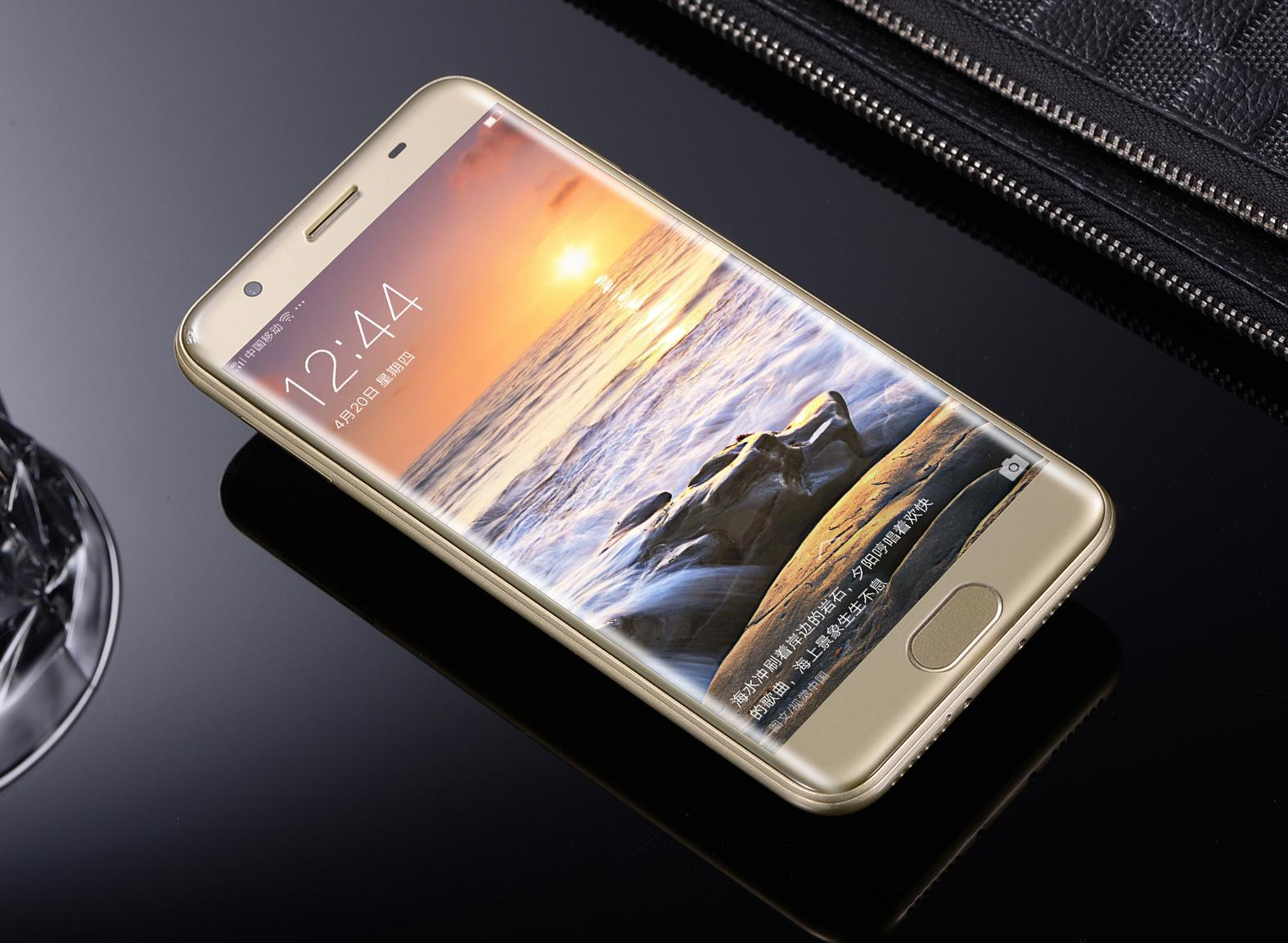 Ten Internal Memory 6g Function Fast Fill Hyperbolic Screen With Hyperbolic Camera Fingerprint With Double Cassette Mobile Phone One Metal