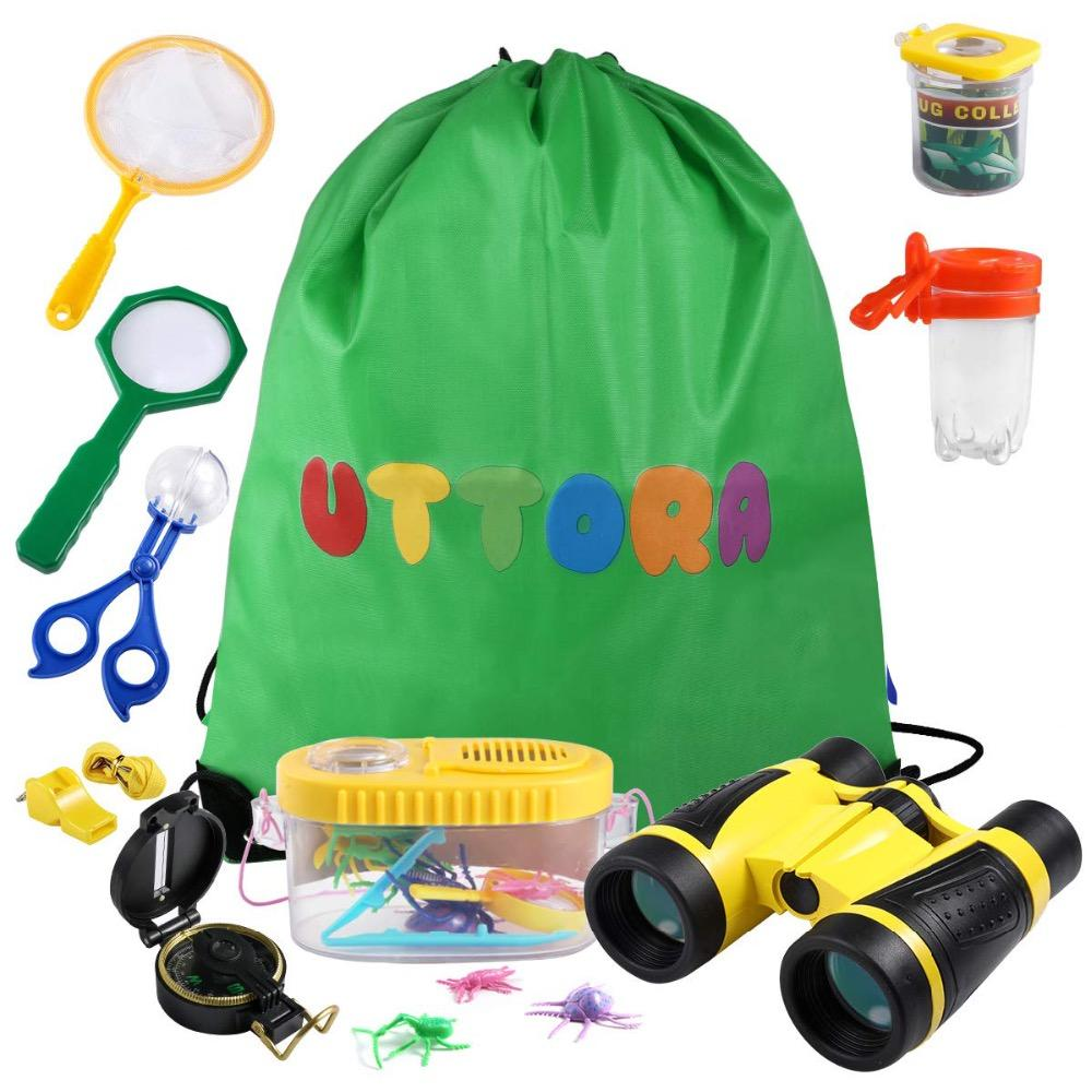 Regalo Bambina 4 Anni acquista set di giocattoli bambini binocolo set di esplorazione esterni,  ideale 3 4 5 6 12 anni ragazzo e ragazza, kit di avventura bambini, regalo