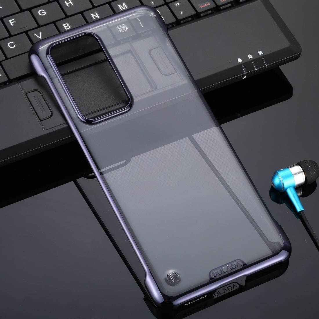 Huawei P40 Pro SULADA Sınırsız Bırak geçirmez Vakum Kaplama PC Kasa İçin