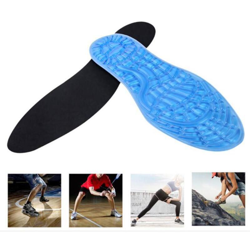 Scarpe silicone Solette Massaggiare Sport Pad Orthotic Arch Sport scarpe Foot Care rilievo di alta qualità Gel solette