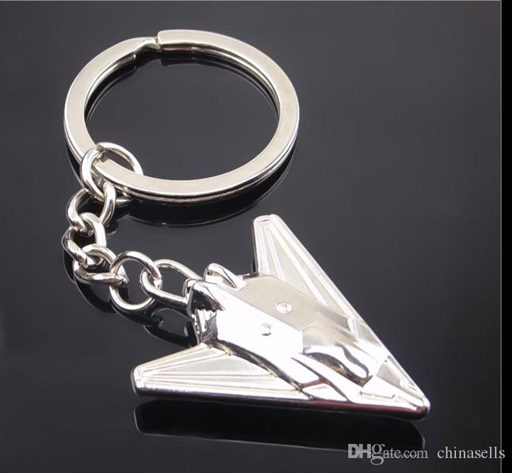 aircraft key chain airliner Combat aircraft airplane keychain Bag Pendent Men Car Key ring jewelry advertisement gifts
