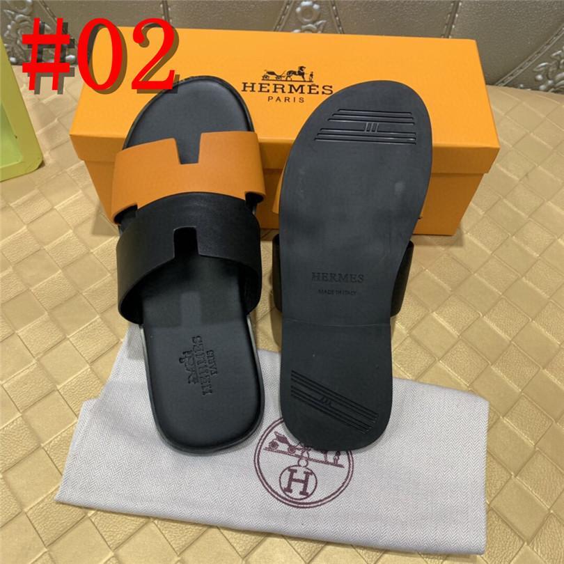 19FS tasarımcı moda büyük boy terlik 46 artı Ayakkabılar 2019 slaytlar siyah plaj düz kahverengi erkek sandalet deri yaz suyu Dış