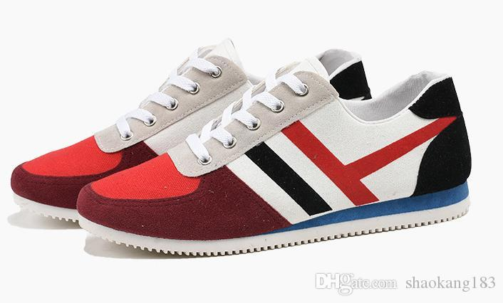 Forma na moda sapatos casuais confortável versão coreana do ultra-leve sapatos de moda de rua de baixo para ajudar a luz sapatos antiderrapantes