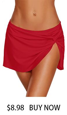 21e85b9803 SEBOWEL 2019 Womens Bikini Swimwear Lace Up Beach Swim Shorts Black Wide  Waistband Swimsuit Bottom Shorts