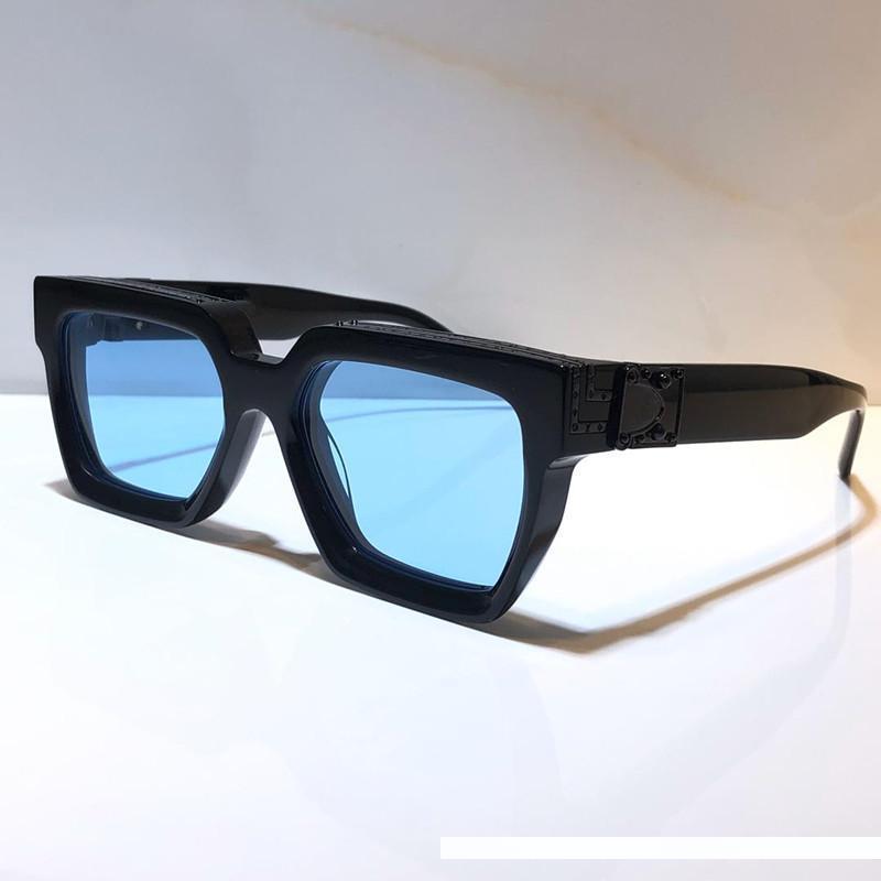 MILLIONAIRE per gli uomini donne Occhiali da Sole full frame Vintage 1165 1.1 occhiali da sole per gli uomini placcato oro lucido Logo Hot vendere oro Top 96006