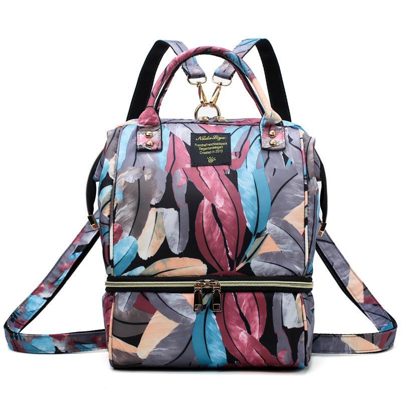 Multifonction femmes jeunes mode sac à bandoulière style coréen ordinateur portable sac à dos cartables pour les filles adolescent garçons Voyage